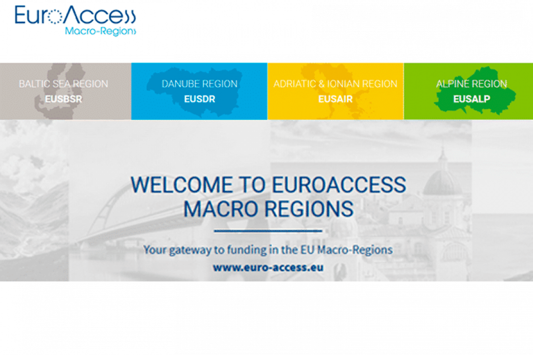EuroAccess Macro-Regions launched on June 25th 2018