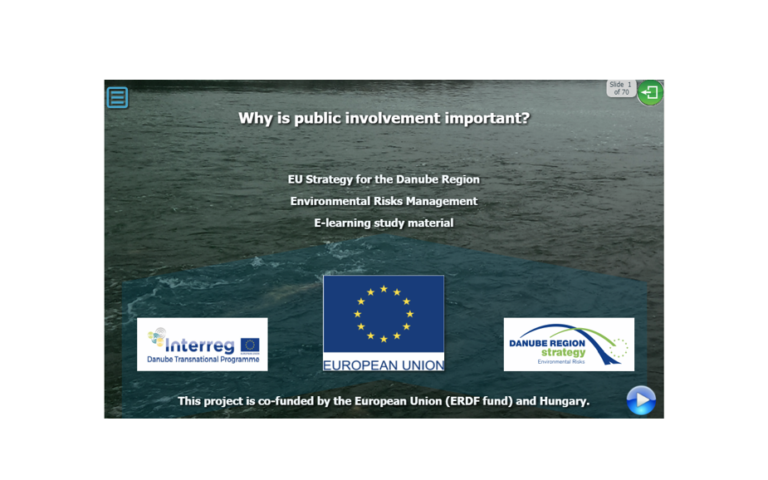 NEW DOCUMENT – E-learning study material about floods (PA5)