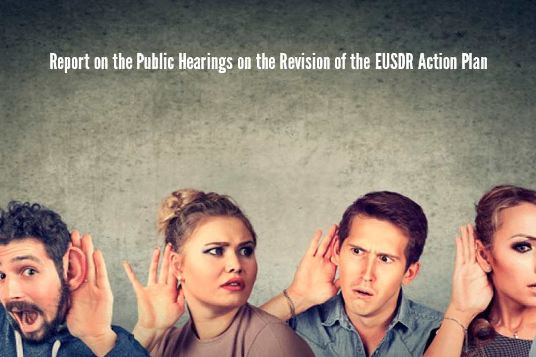 Public Hearings and online consultation reports on the revision of the EUSDR Action Plan
