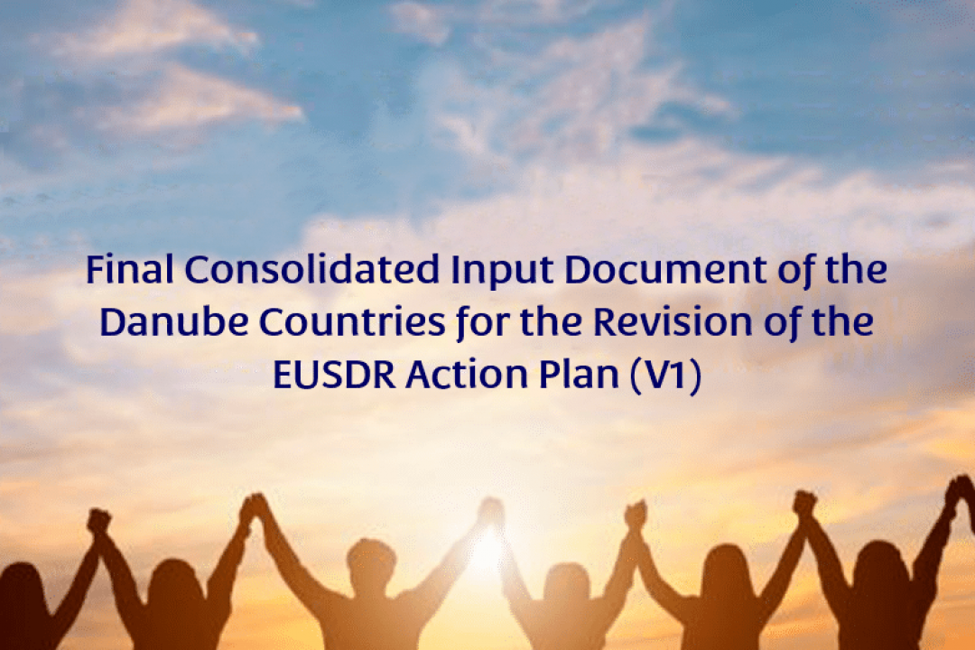 Consolidated Input Document of the Danube Countries for the Revision of the EUSDR Action Plan