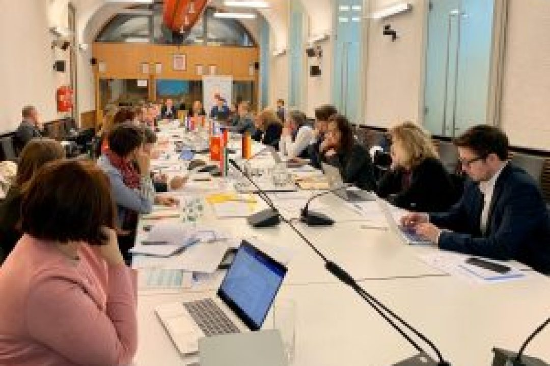 EUSDR National Coordinators Meeting on 21. / 22. November 2019 in Zagreb