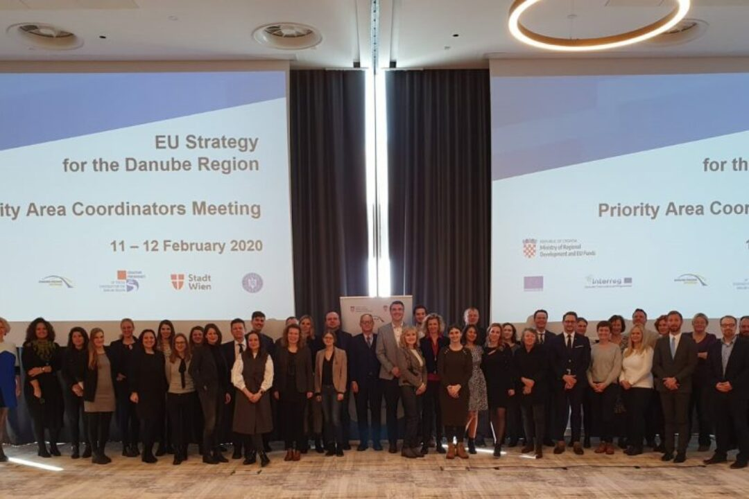 EUSDR Priority Area Coordinators met in Zagreb on 11th & 12th February 2020