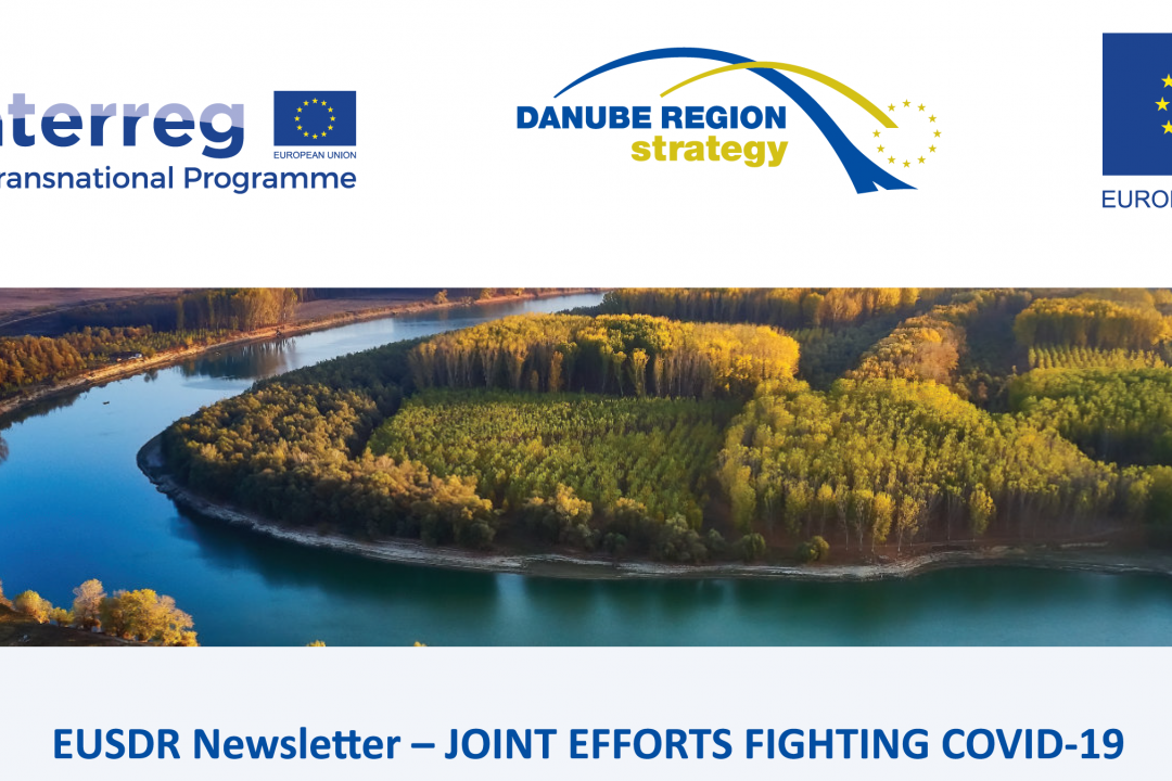 EUSDR Newsletter – joint efforts to fight against covid-19 pandemic effects