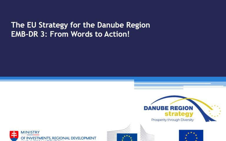 EUSDR Embedding continued to be Top Priority at the NC-PAC Meeting on 2nd March